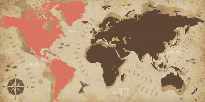 Americas - Map