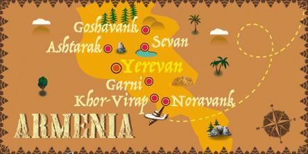 Armenia - Map