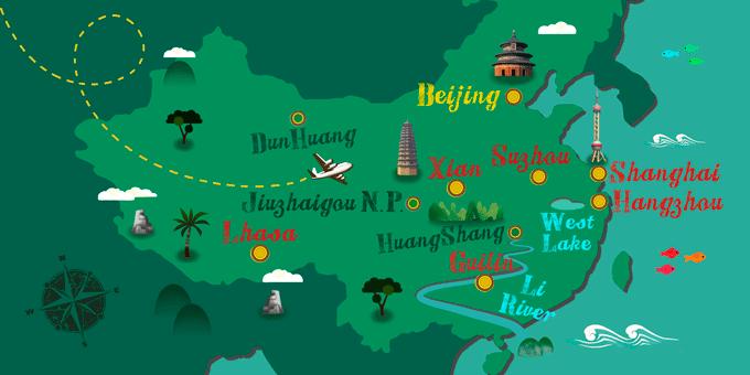 China - Map