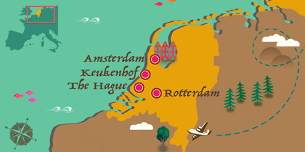 Holland - Map