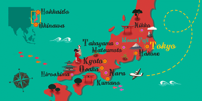 Japan - Map