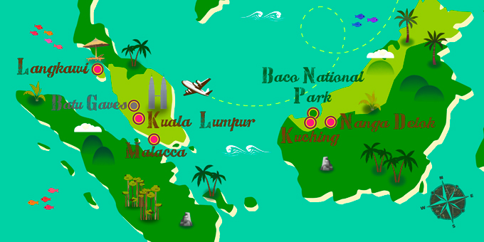 Malaysia - Map