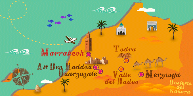 Morocco - Map