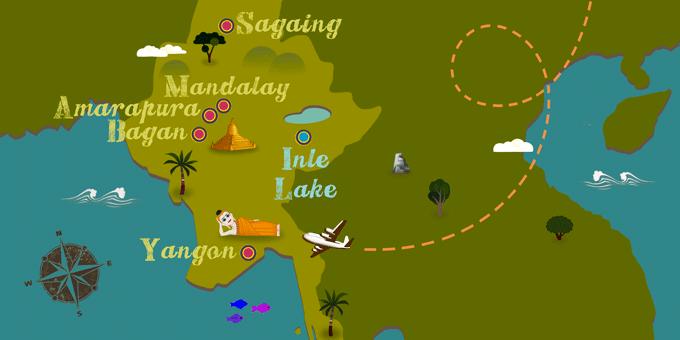 Myanmar - Map