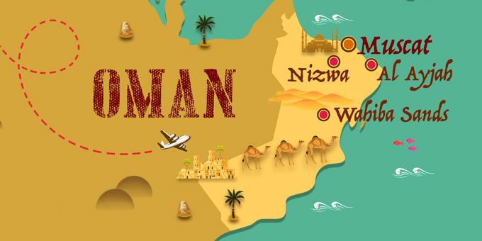 Oman - Map