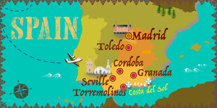 Spain - Map