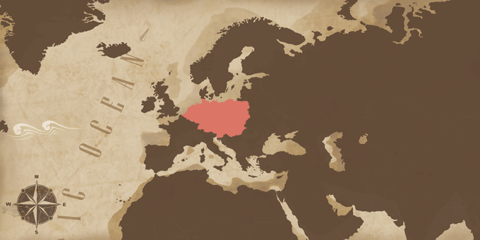 Central Europe - Map