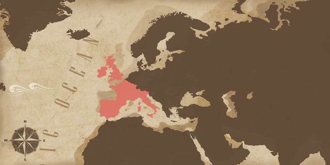 Western Europe - Map